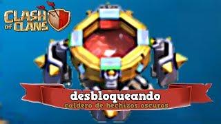 YA TENGO EL CALDERO DE HECHIZOS OSCUROS!!//EMPEZANDO Clash of Clans Español con bykingtraGames