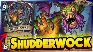 Hearthstone - BEST OF SHUDDERWOCK - Witchwood WTF Funny Rng Moments