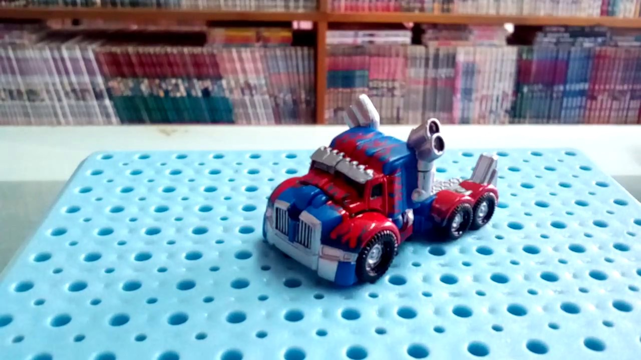 tf5 toys review tiny turbo changers optimus prime youtube. Black Bedroom Furniture Sets. Home Design Ideas