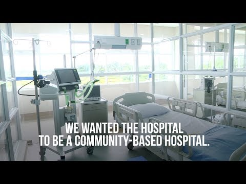Residents pitch in to help build state-of-the-art hospital