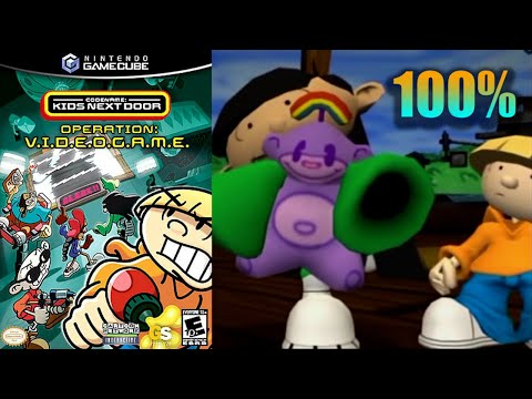 Codename:KND - Operation: V.I.D.E.O. G.A.M.E. [17] 100% GameCube Longplay