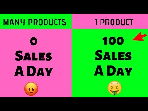 How To Build a One Product Dropshipping Store (PROFITABLY) thumbnail