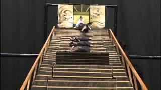 "Samurai Falling Down the Stairs/日本武士電影""從樓梯滾下來"""