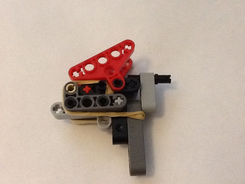 How to make a small powerful Lego gun! - YouTube