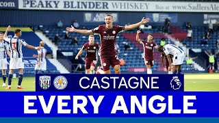 EVERY ANGLE | Timothy Castagne vs. West Bromwich Albion | 2020/21