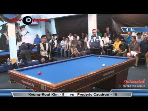 FINAL MATCH - Million Dollar Billiards - Frederic Caudron vs Kyung-Roul Kim 김경률