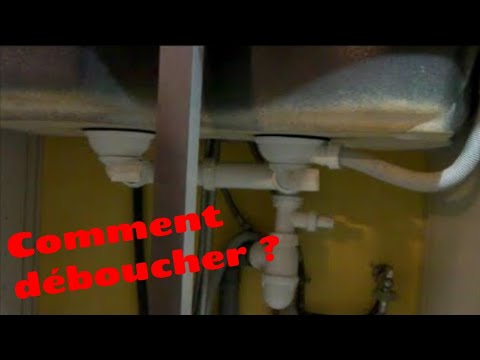 comment d boucher un siphon d 39 vier youtube. Black Bedroom Furniture Sets. Home Design Ideas