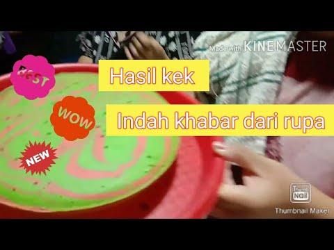 Vlog Mr Cute Hasil Kek Indah Khabar Dari Rupa Tutorial Kek Marble Last Part Youtube