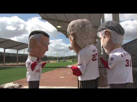 Video: Racing President Bill joins Washington Nationals