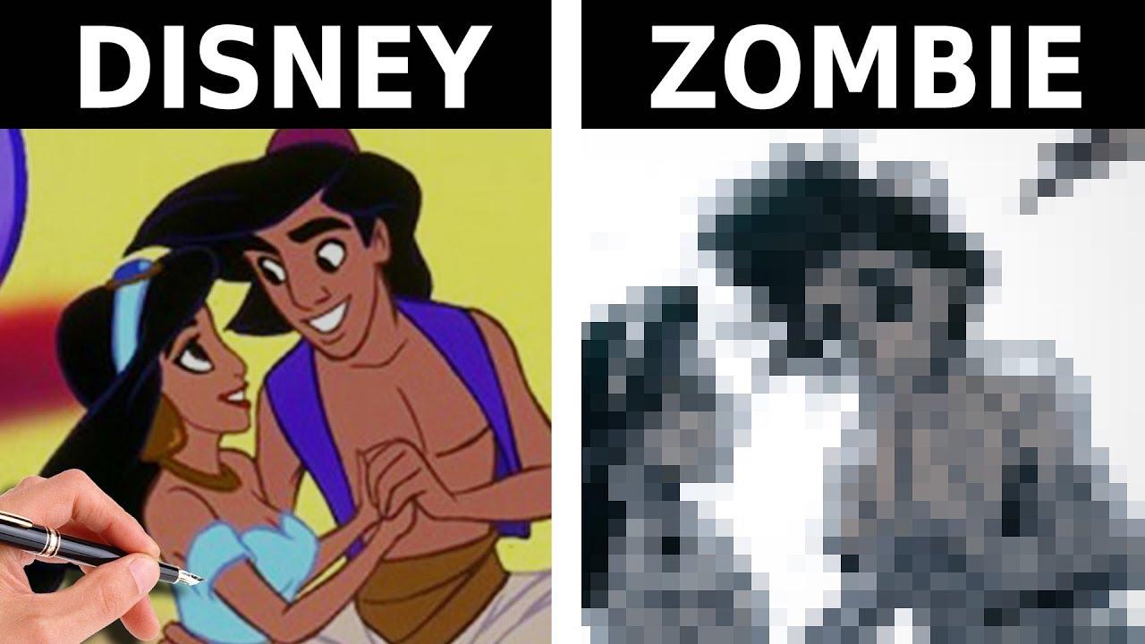 Disegnare Aladdin Zombie Speciale Halloween Richardhtt