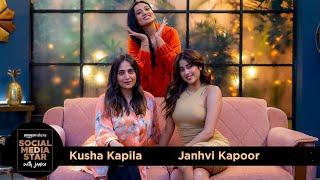 Social Media Star With Janice S03    E02 Janhvi Kapoor & @Kusha Kapila