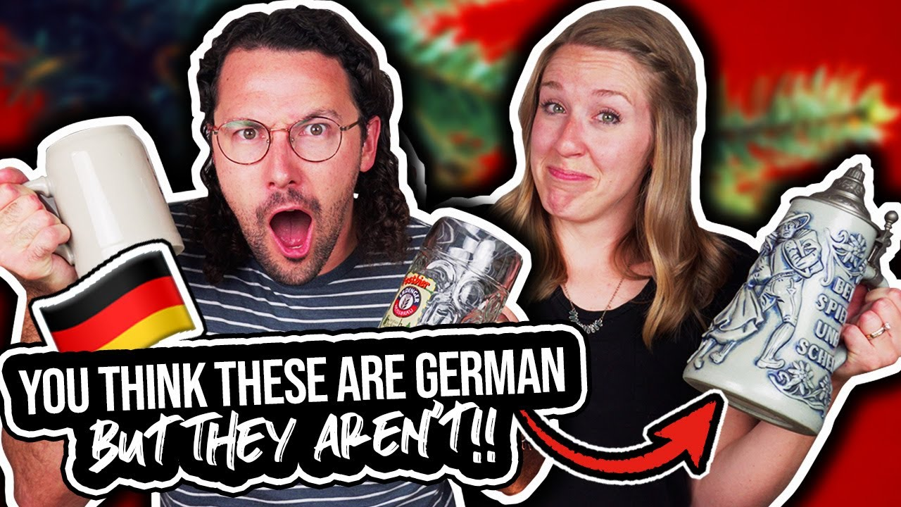 6 Things NOT Actually German That Americans THINK ARE German...