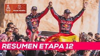Carlos Sainz hace historia y gana su tercer Dakar | Resumen Etapa 12 Dakar 2020