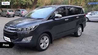 Toyota Innova Crysta Review Designed For The Passengers Ecardlr Customer Review