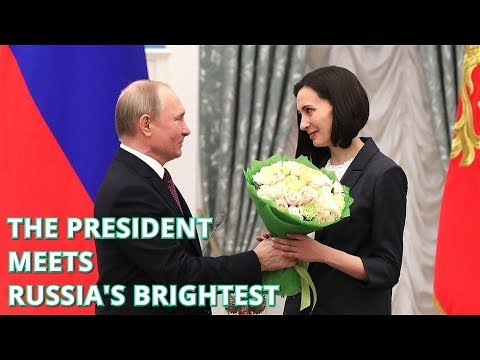 IMPRESSIVE! Putin Awards Young Scientists in the Kremlin: You Have A Cure Against Parkinson's!?