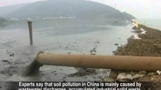 China suffers land loss from pollution