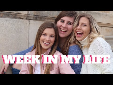 WEEK IN MY LIFE (COLLEGE) PT.2