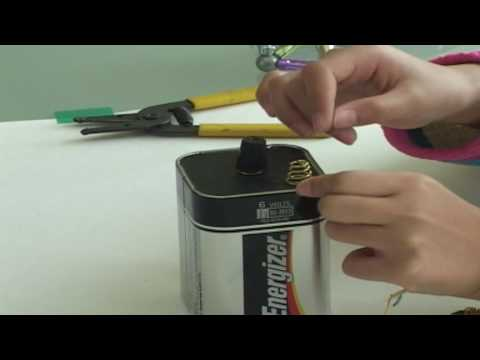 how to build an electromagnet gcse
