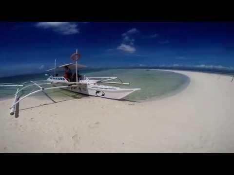 Sand bar at virgin island bohol
