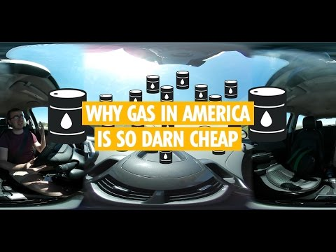 Why gas and oil are so cheap in America - 360 degree explainers