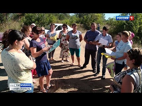 Многодетные семьи не могут получить обещанные земельные участки в Горячем Ключе