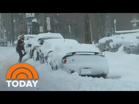 Cold Weather Blankets 200 Million Americans As Winter Storm Gains Strength | TODAY