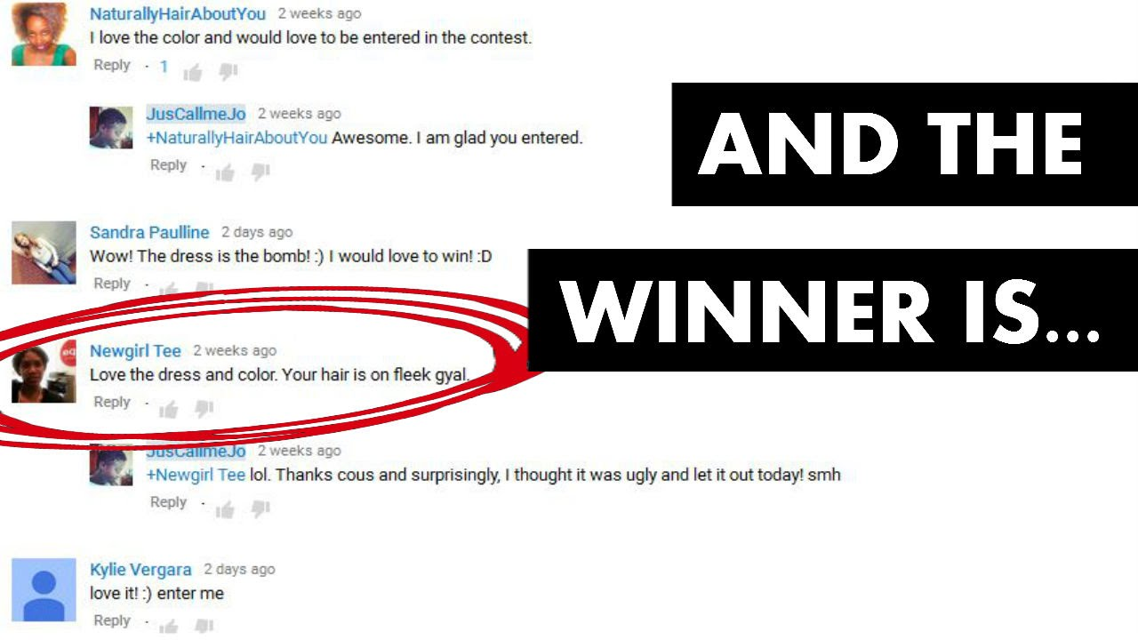 YouTube Comment Randomizer or Picker
