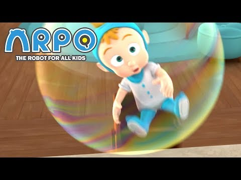 ARPO The Robot For All Kids | Boy In The Bubble! | Full Episode Compilation | Cartoon For Kids