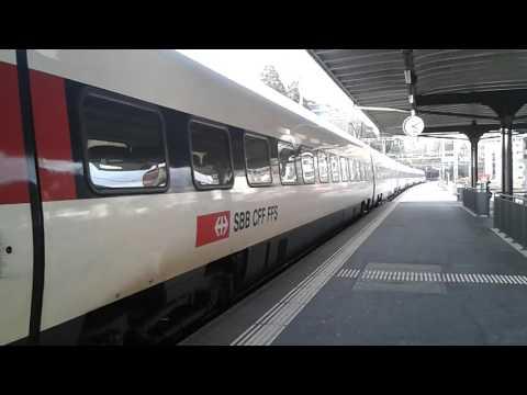 Lugano (Svizzera): Treno Diretto A Zurigo (Svizzera) 08/02/16