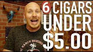 6 Cigars Under $5 for the Aficionado on a Budget