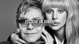 Lady Gaga, Elton John • SINE FROM ABOVE   Letra en Español e Inglés
