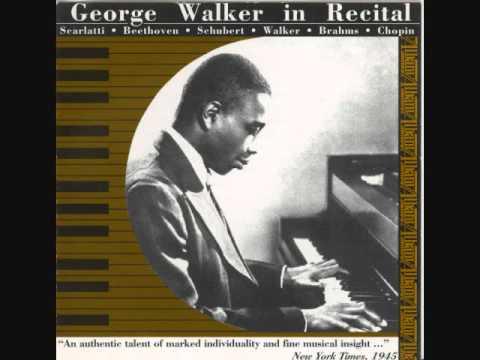 george walker sonata in 1 movement for violin piano