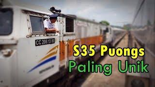 Bertemu dengan Kereta Api Lodaya Pagi dari Solo Balapan di Stasiun ...