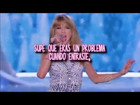 I Knew You Were Trouble  Taylor Swift  Subttulos en espaol