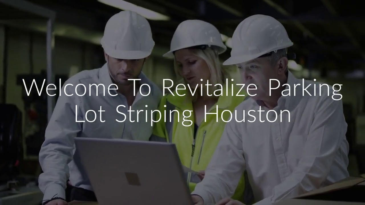 Driveway Paving At Revitalize Parking Lot Striping Houston