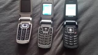 Samsung E700 vs E720 vs E770