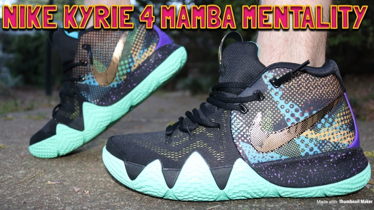 7d3fc07fd391 NIKE KYRIE 4 MAMBA MENTALITY REVIEW   FIRE ON FEET!! - YouTube
