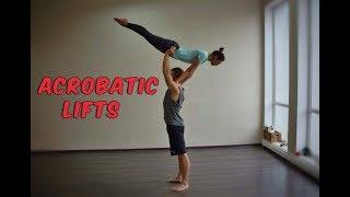 Акробатические поддержки. Обучение - Базовый заход | #ActiVerba