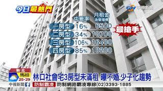 好難搶! 林口社宅明抽籤 1房型中籤率僅16%│中視新聞 20180912