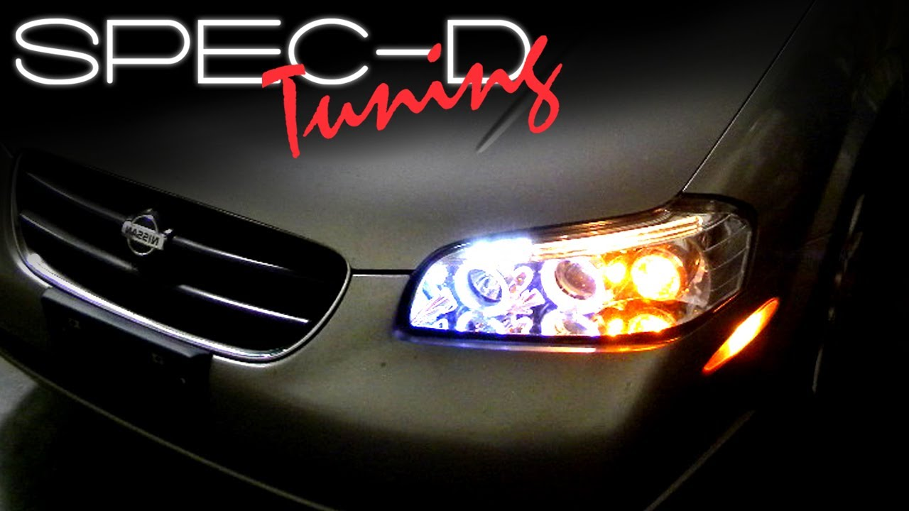 Specdtuning Installation Video 2000 2001 Nissan Maxima