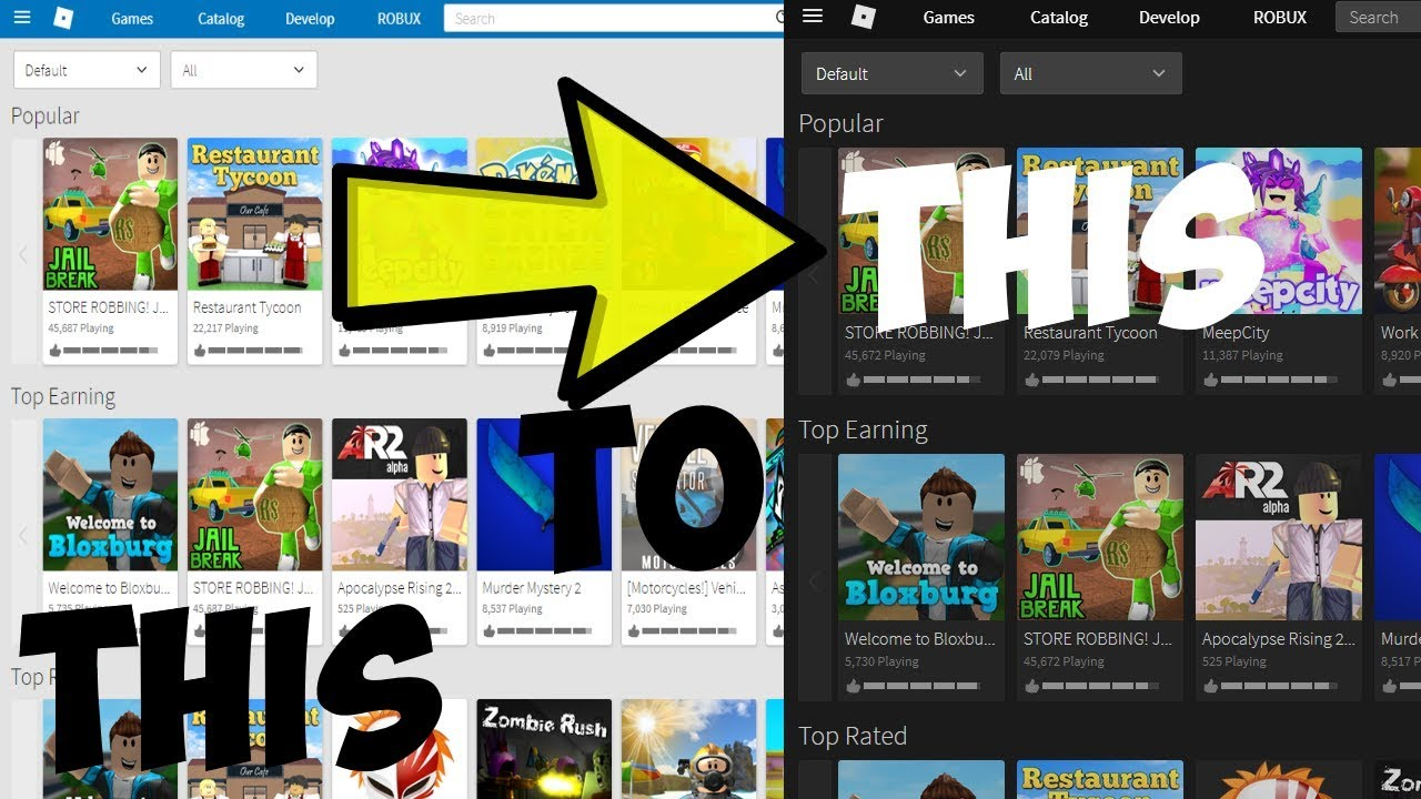 How To Get Roblox Themes Still Works Youtube