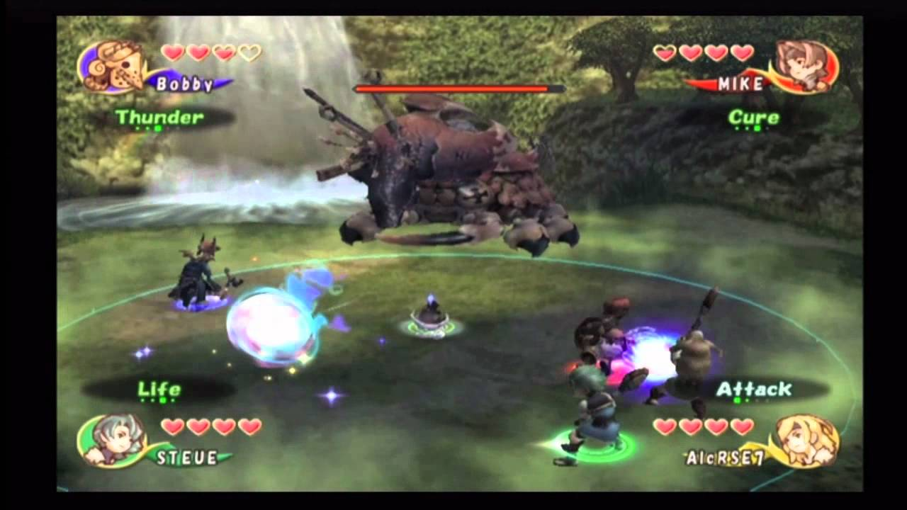 Classic Capture Final Fantasy Crystal Chronicles