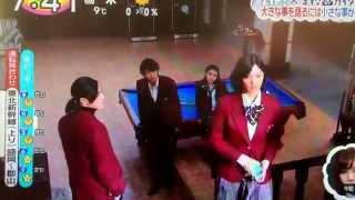 新土曜ドラマ「学校のカイダン」とZIP!のスペシャルコラボ。 今日か...