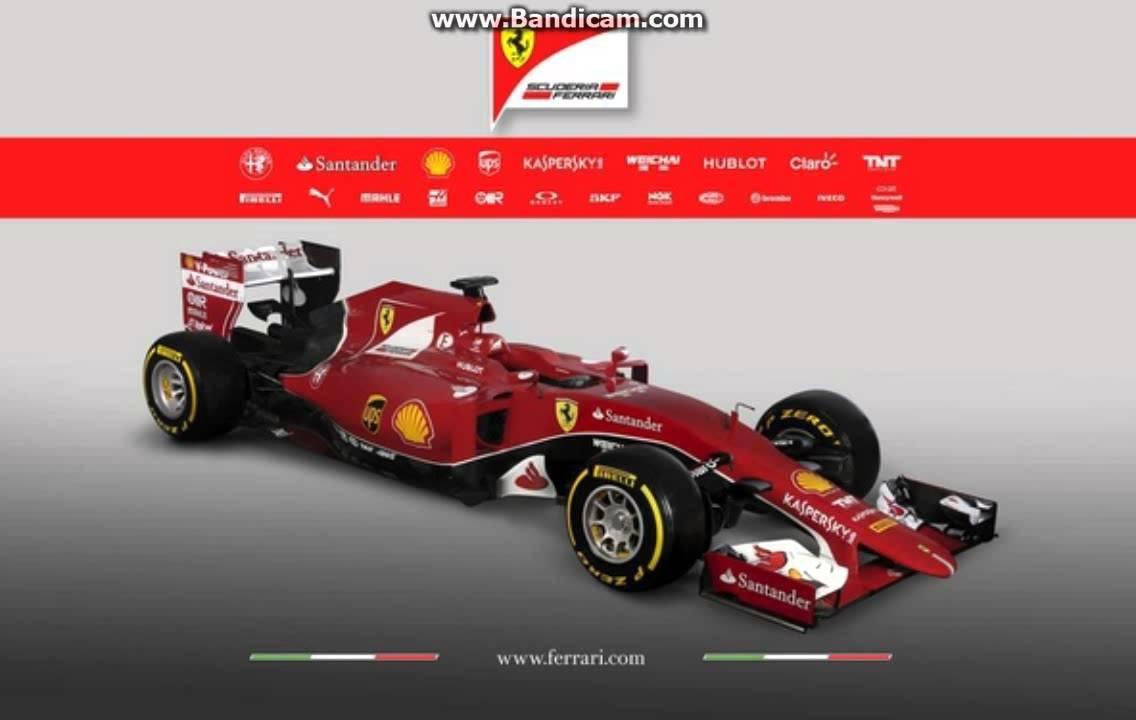 F1 2015 Ferrari Livery Youtube