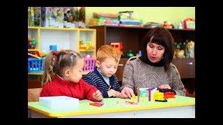 занятие в детском саду с палочками Кюизенера