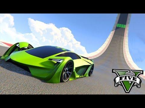 GTA V Online: PRIMEIRA CORRIDA do CARRO $3,000,000!!! (TEZERACT)
