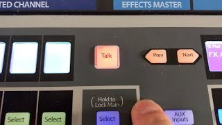 Nifty Talkback Button | Presonus StudioLive 24 Series III