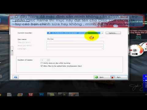 CĐ thực hành FPT- PS00269 - Hướng dẫn ghi đĩa bằng Nero 7