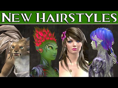 New Hairstyles July 2016 Guild Wars 2 Youtube
