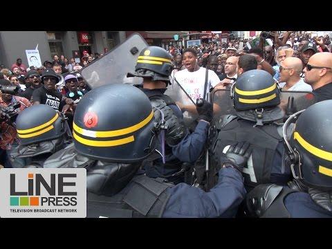 Manifestation Adama Traoré bloquée par la police / Paris - France 30 juillet 2016